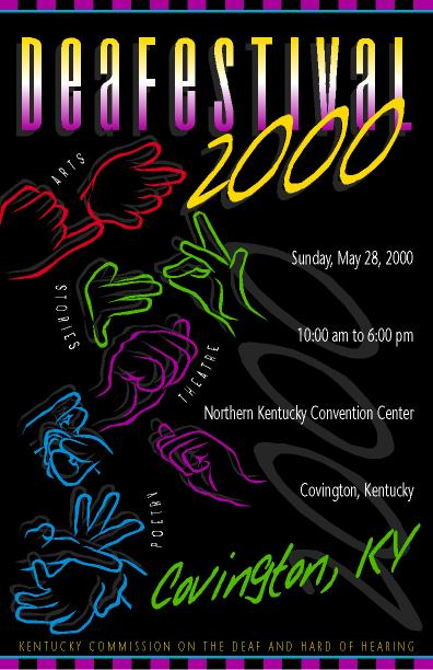 DeaFestival 2000 Poster Image