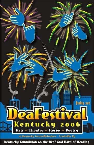 DeaFestival 2006 Poster Image
