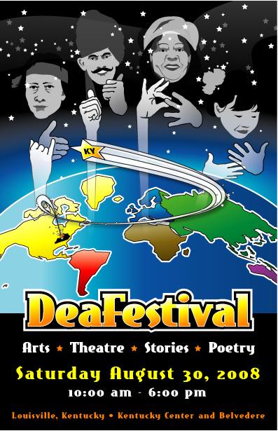 DeaFestival 2008 Poster Image
