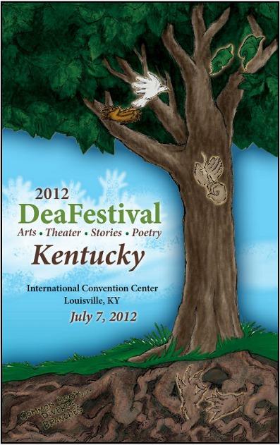 DeaFestival 2012 Poster Image