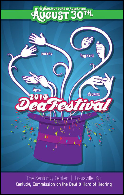 DeaFestival 2014 Poster Image