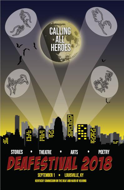 DeaFestival 2018 Poster Image