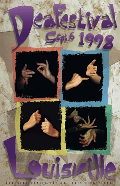 DeaFestival 1998 Poster Image