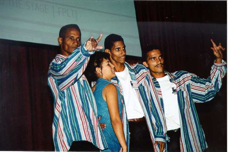 Cuban all Deaf Dance Group