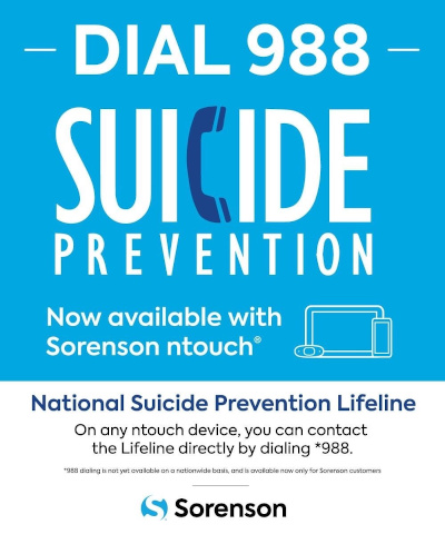 Go to the National Suicide Prevention Hotline website.