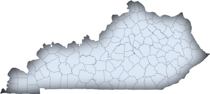 Image showing Kentucky county map.