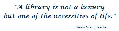 Henry Beecher Quote