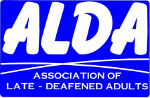 Association of Late-Deafened Adults logo