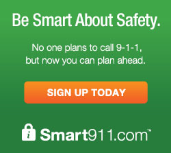Go to the Smart911 website to learn more and to sign up for services.