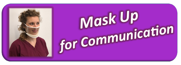 Apply for clear masks for nursing home employees who serve deaf and hard of hearing patients.