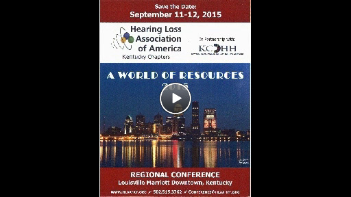 HLAA Conference 2015