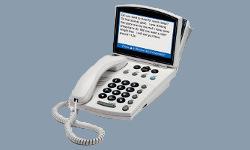 A CapTel phone