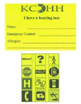 ICE Communication Card