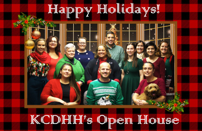 KCDHH's Holiday Open House 2019.