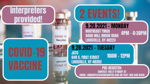 Image displaying Deaf Vaccine Event.